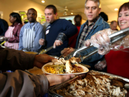 Here's a list of holiday meals for those in need in Cleveland, Ohio