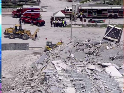 BREAKING: Building collapses in Miami Beach