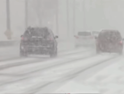 400 Crashes Across Maryland As First Storm Arrives