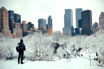 New York City is getting heavy weather