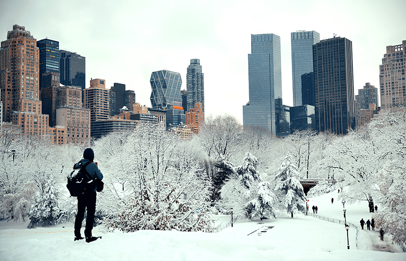 NYC is having one of the coldest winters and more snow is on the way